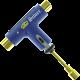 Silver Multi-Purpose Skate Tool