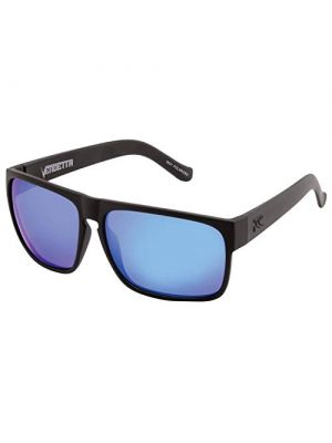Carve Vendetta Floating Sunglasses - Matte Black/Blue Iridium Polarized