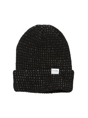 Coal The Davey Waffle Knit Contrast Cuff Beanie