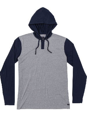 RVCA Men's Pick UP Hooded T-Shirt