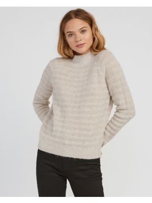 RVCA Mystars Knit Womens Sweater, Oatmeal, 2019