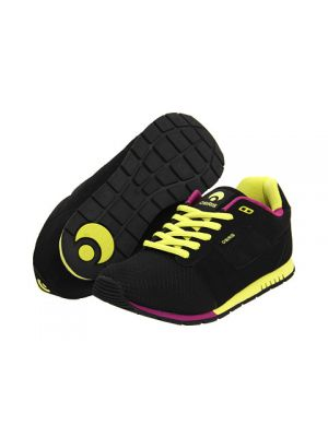 Osiris retron shoe black lime purple 2012