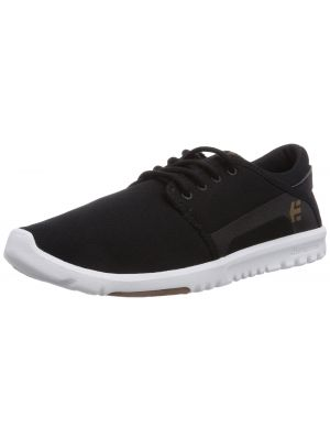 Etnies Men's Scout Skateboard Shoe, Black/White/Gum