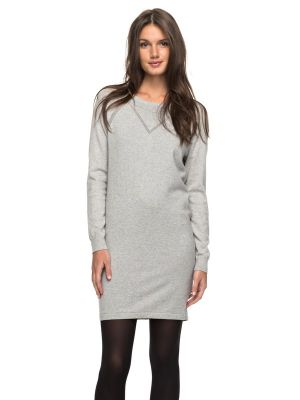 Roxy Winter Story L/S Button Back Dress Heritage Heather Womens 2018