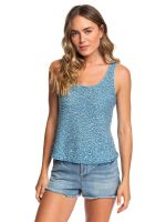 Roxy Women's Army Shades Tank Top, Blue Mykonos