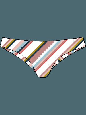 Roxy Printed Beach Classics Mini Bikini Bottom