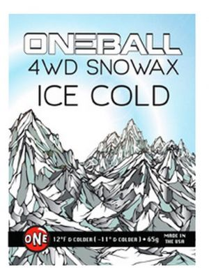 One Ball 4WD Wax ICE COLD Mini (65g)