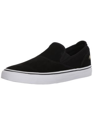 Emerica Men's Wino G6 Slip-ON Skate Shoe, black/white/gold