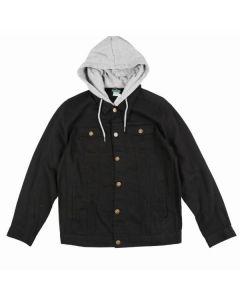 LRG Two for One Denim Mens Black Jacket 2019