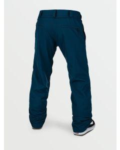 Volcom Freakin Snow Chino Snowboard Pants (Blue, Small)