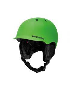 Pro-Tec Riot Snowboard Helmet (Matte Green, Small)