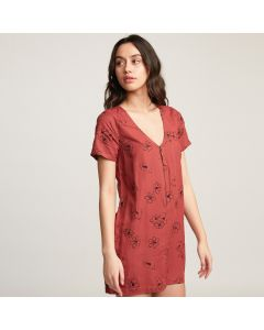 RVCA Cry Wolf Women's Short Sleeve Mini Dress 2020